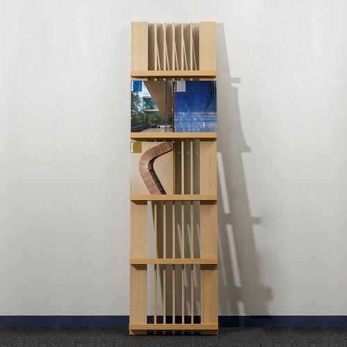 Ladder マガジンラック 2列タイプ